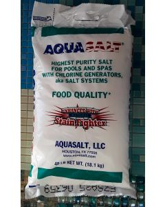 Aquasalt Salt 40 Lb Bag